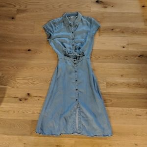 & Other Stories Blue Jean Dress 4